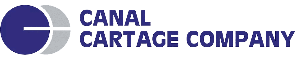 Canal Cartage Logo Transparent Large